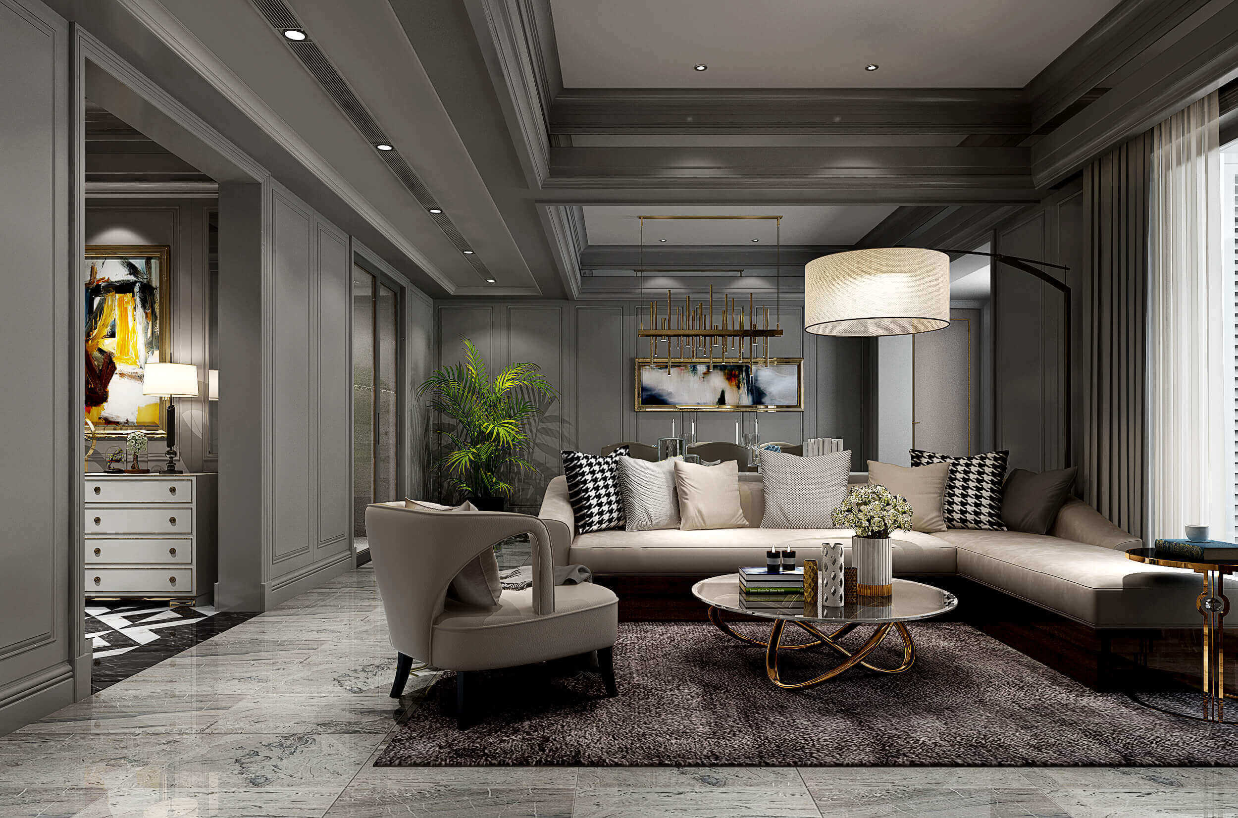 buy 3d interior renderings for American Style