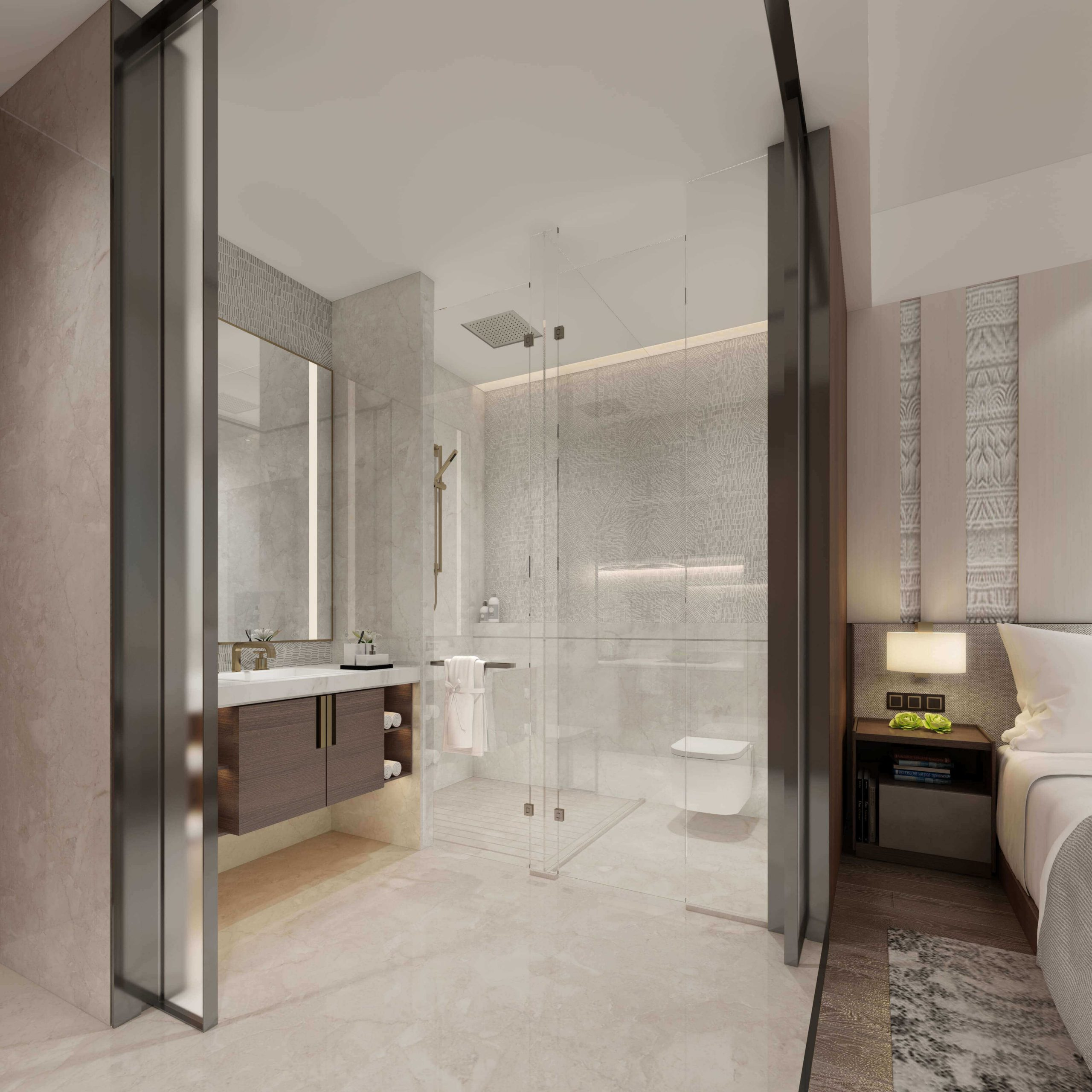 What do you need to know about bathroom 3D interior rendering?