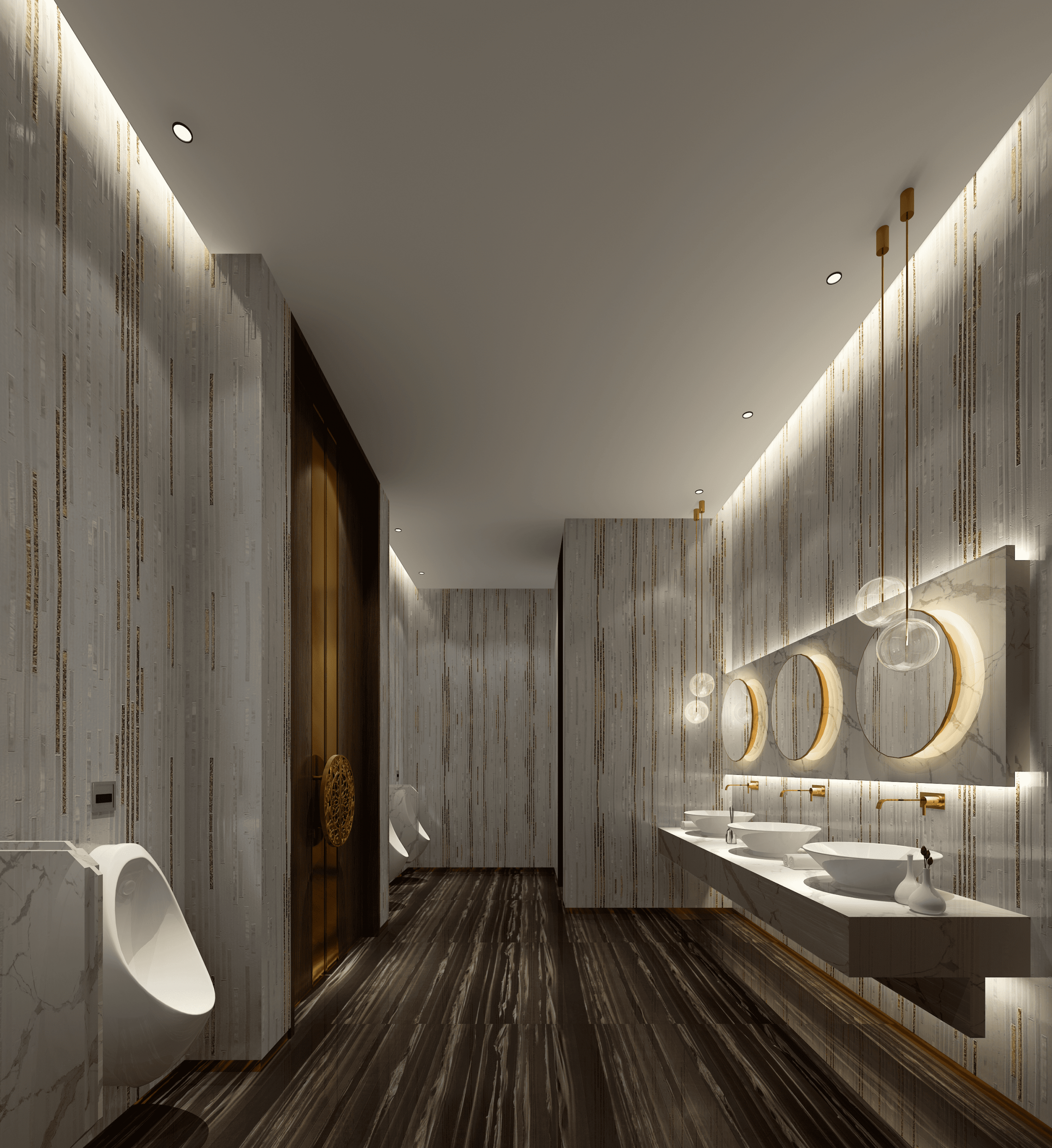Can the bathroom design renderings be designed like this? Really long-sighted!