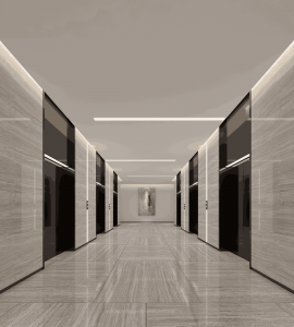 buy 3d interior renderings for standard floor elevator renderings