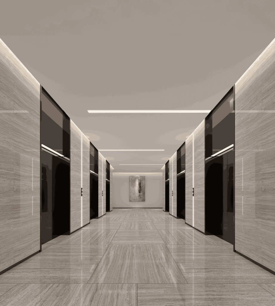 buy 3d interior renderings for standard floor elevator