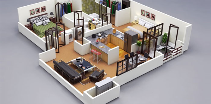 What is the function of 3D modeling in architecture