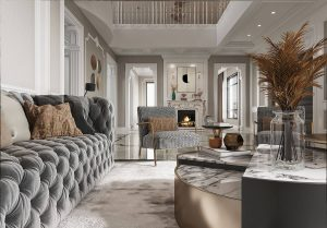 3d renderings for French decoration style