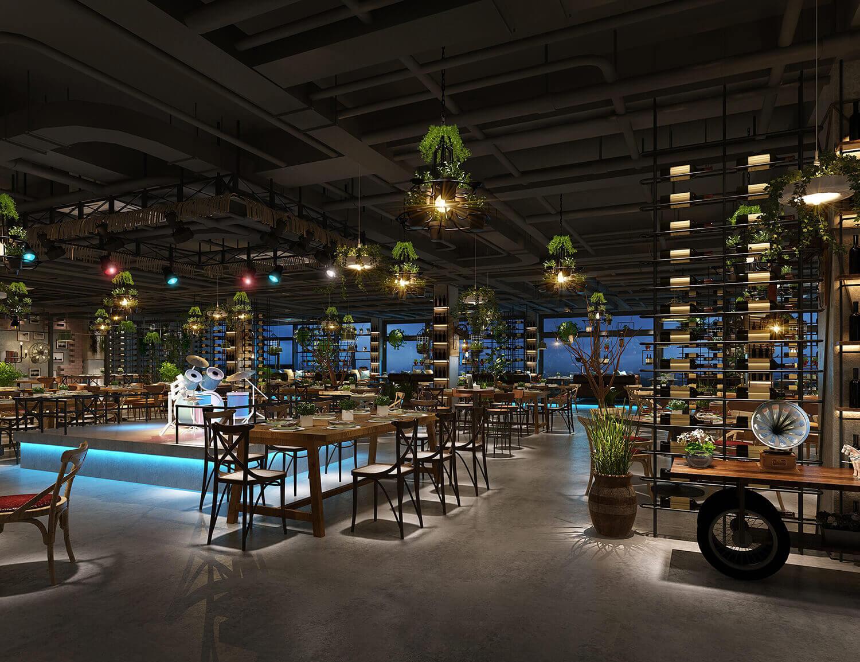 Best Industrial Chic Restaurant Design Images Restaurant