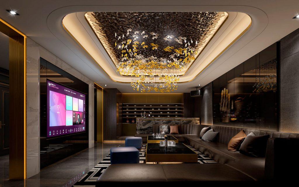 buy 3d renderings for the KTV
