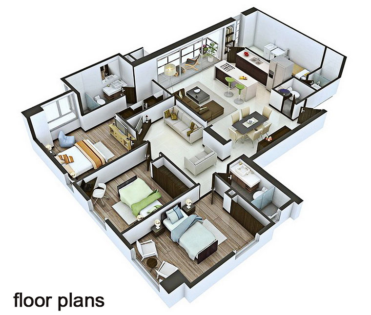Interior design floor plans: you will definitely have the ability to get started quickly