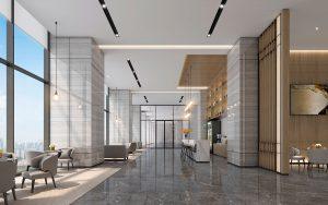 lobby lounge renderings near