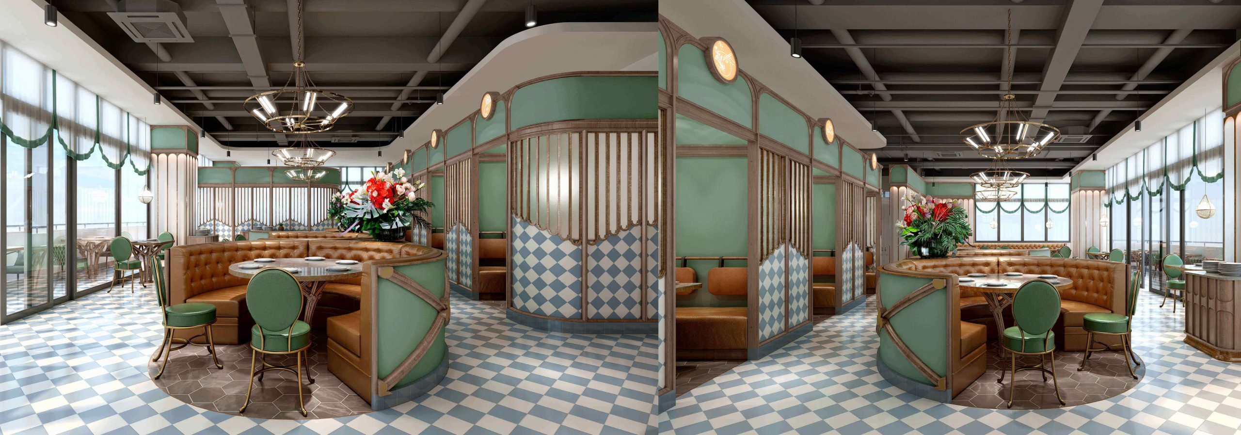 What should everyone know about European restaurant design