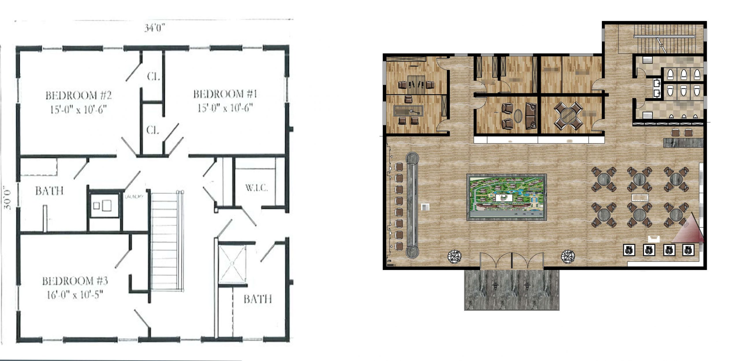There are a few things you need to know about interior simple floor plans