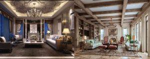 interiors renderings