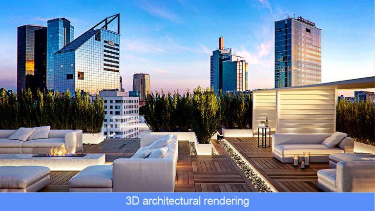 3D architectural rendering studios
