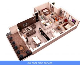 3D Floor Plan Design Services: Learn how to start a 3D floor plan service