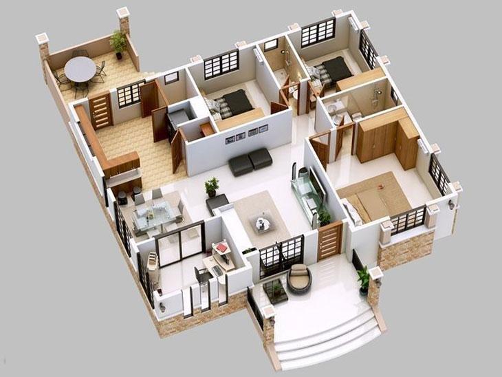 creating 3D floor plans online