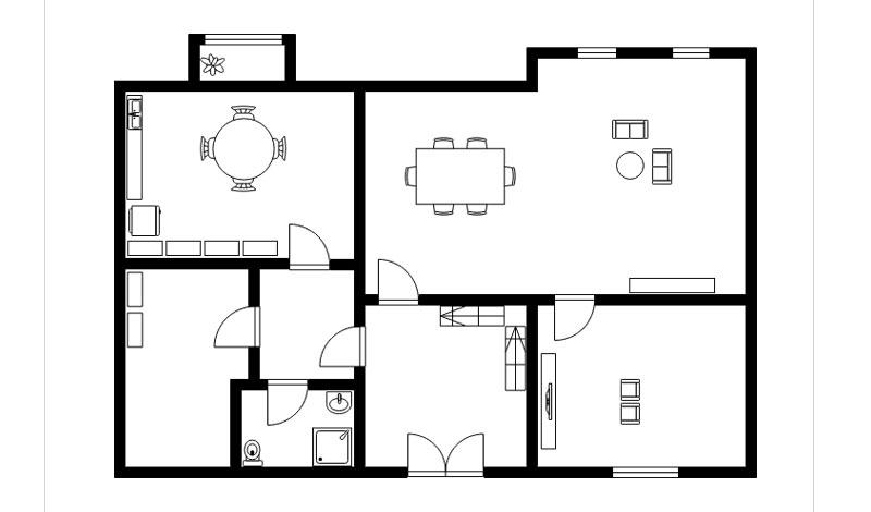 floor plan drating