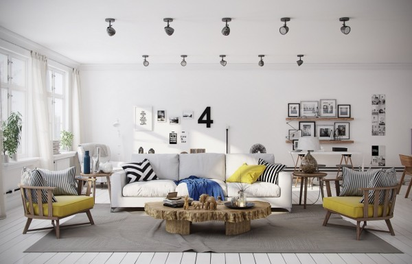 chevron-yellow-living