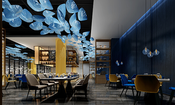 hotel-restaurant-rendering