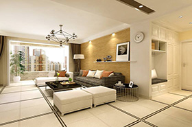 What is Brief Simple Style 3d interior rendering?