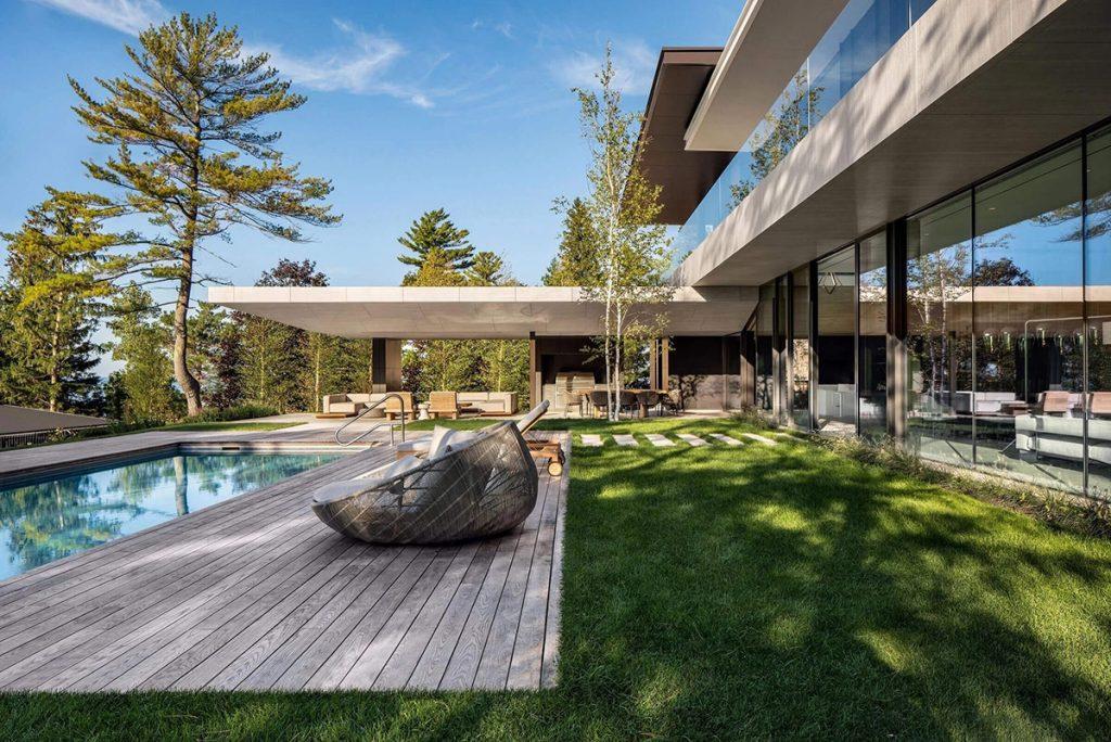 Custom Luxury Home Rendering