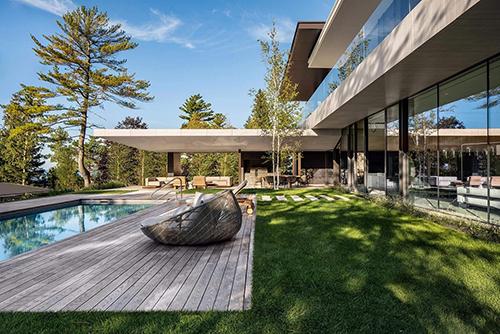 modern villa rendering service