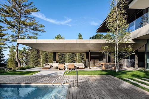 Luxury Villa Design Rendering, Interior Improvement Rendering Service