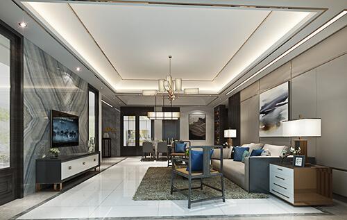 Senior ash, concise and exquisite interior design renderings