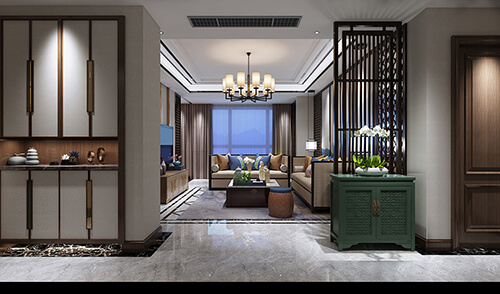 Interior design renderings make a small space full of style!