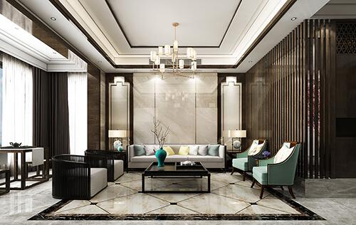 Elegant living room design, beautiful and practical!
