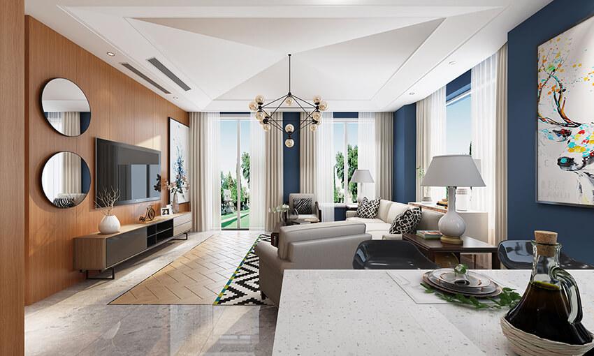 3D interior rentering