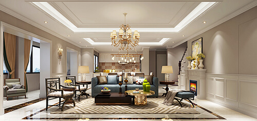 How to make your living room design romantic?